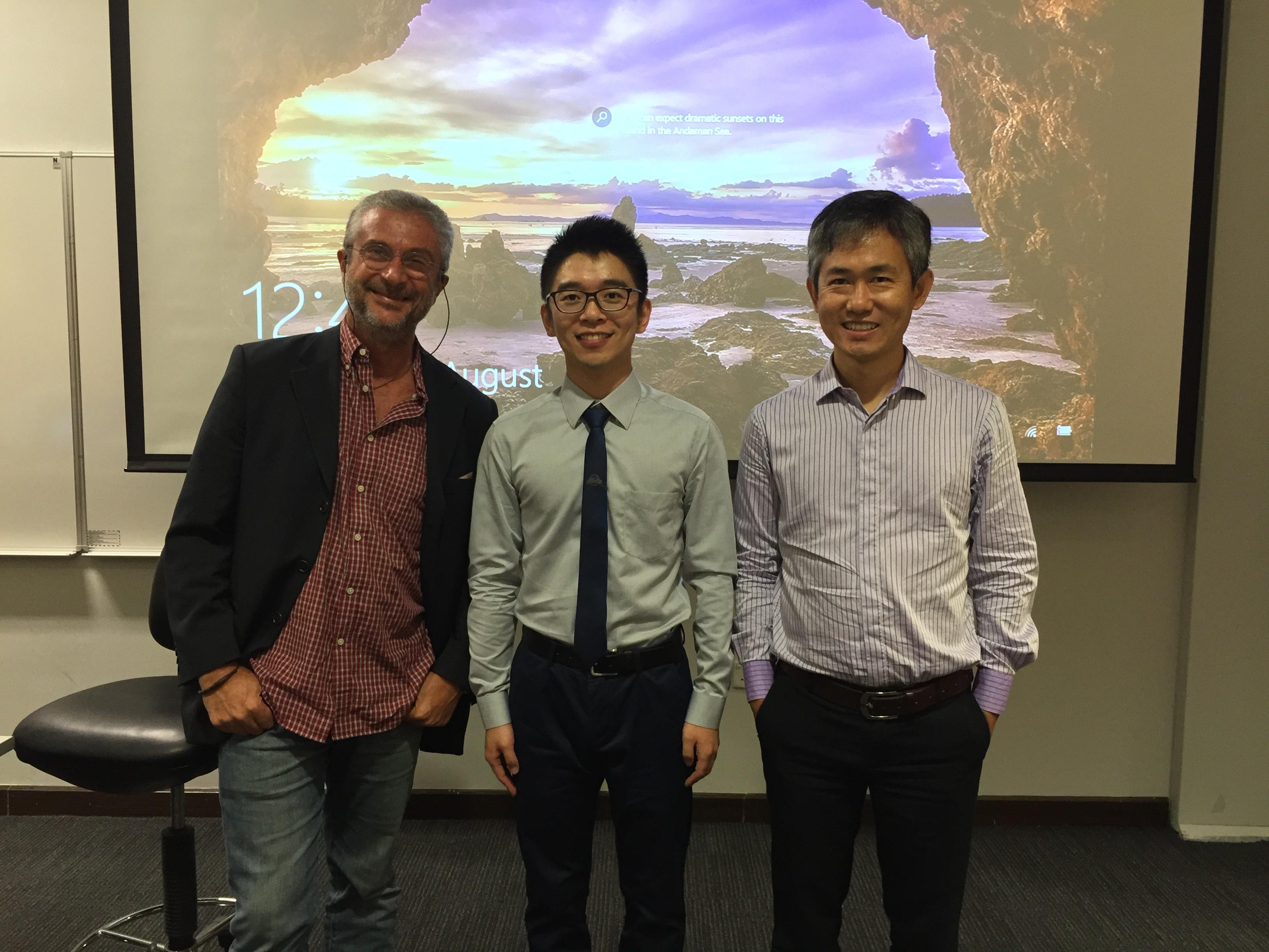 Photo 2: PhD defense of Huanran Wan