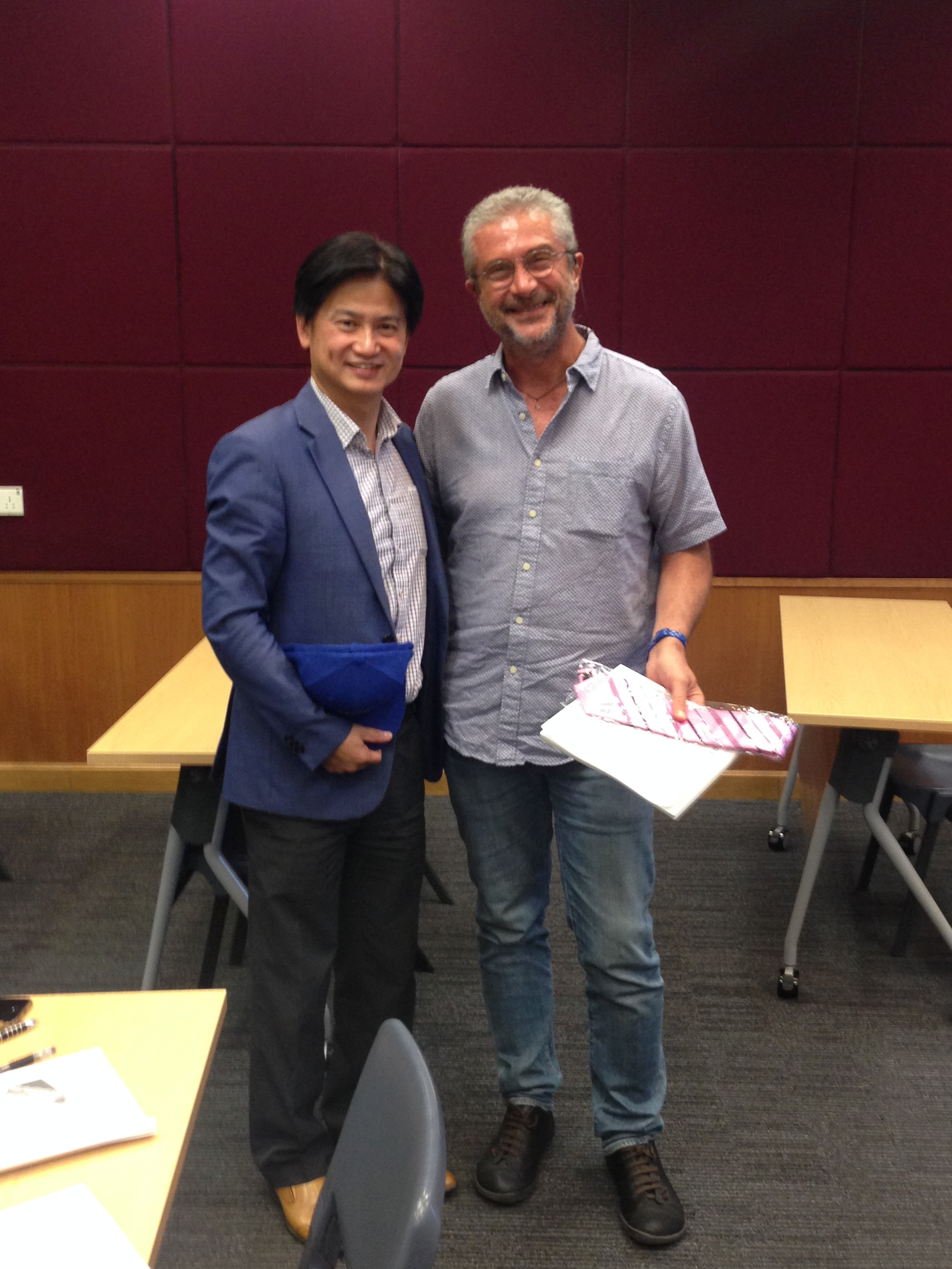 Photo 3: Cino and Charles Ng